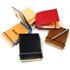 皮製のメモ帳カバー