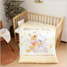 日本製洗えるベビー布団11点[プーさん]Disneyベビー布団セット[Pooh]